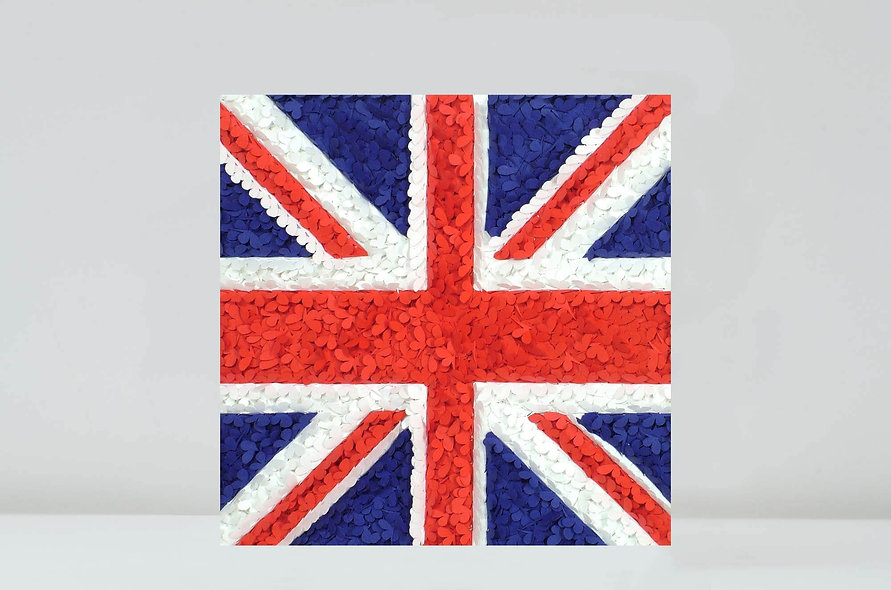 Union Jack Butterfly Card, Brexit Card