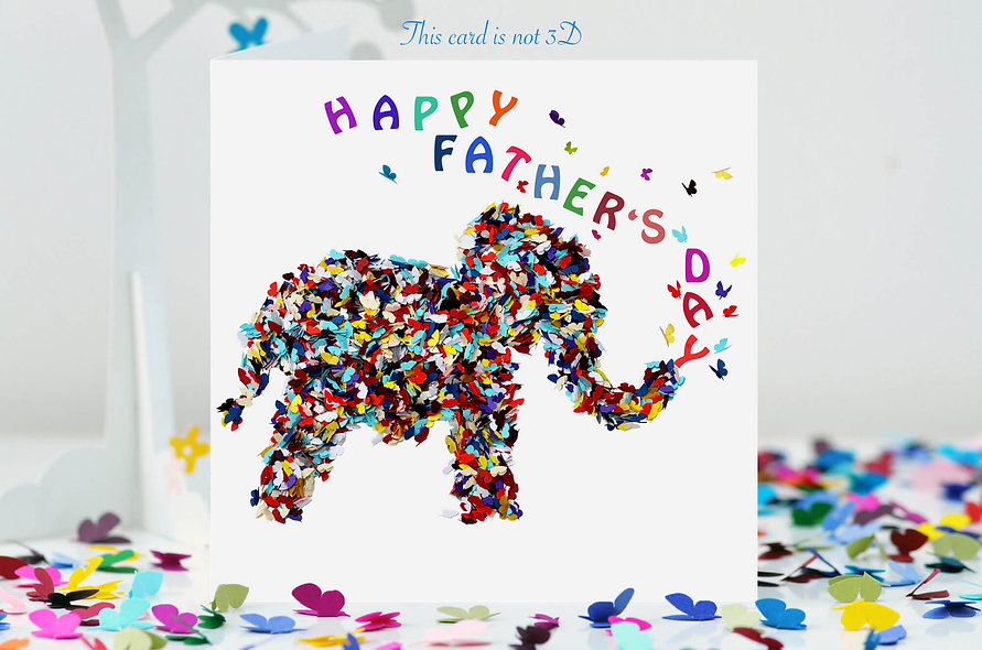 Elephant Father's Day Card
