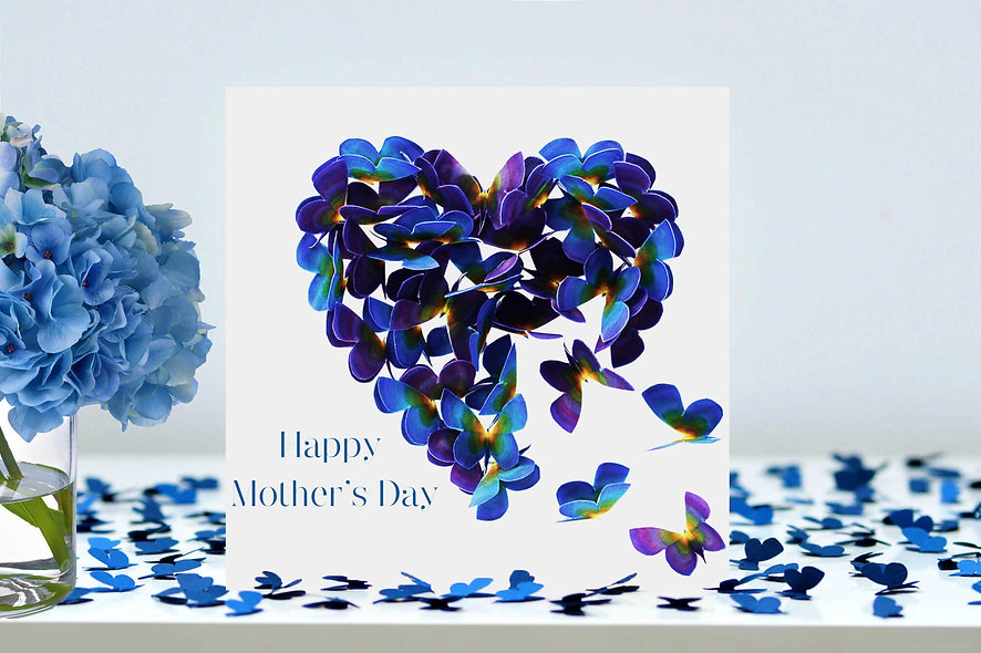 Mother's Day Forget Me Not Card