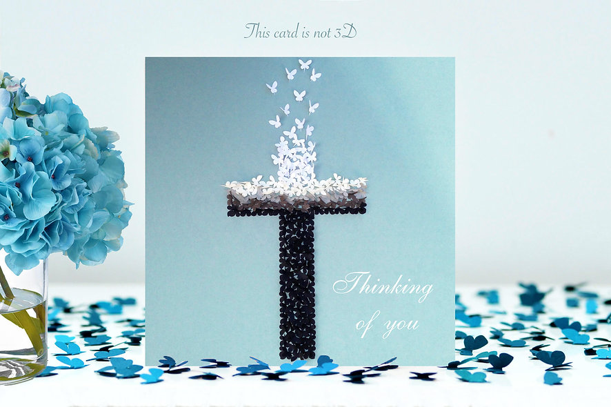 Christian Thinking Of You Card