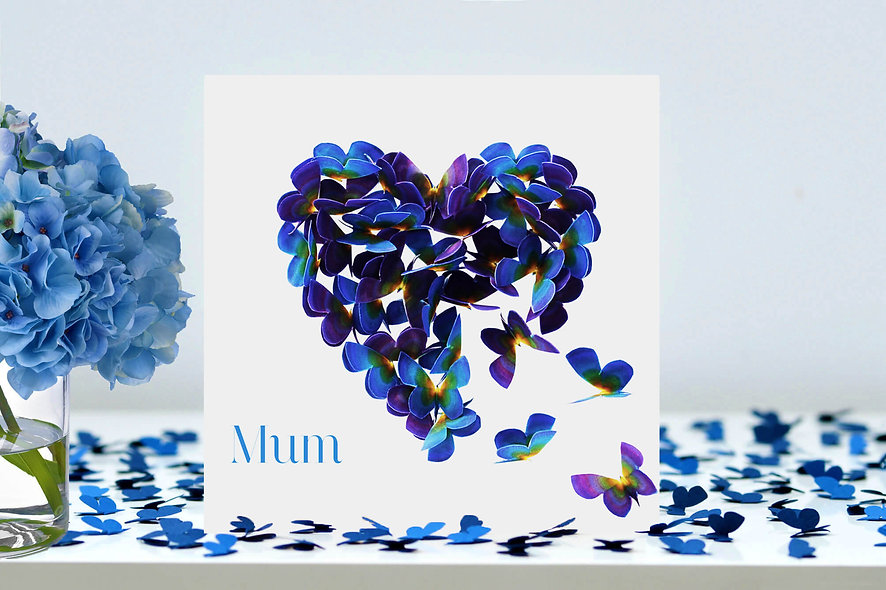 Mum Heart Card