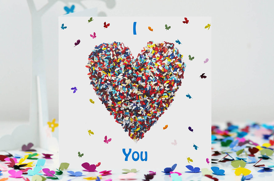 I LoveYou Heart Card