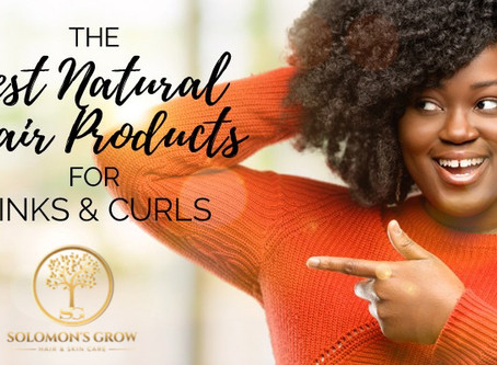 Looking for the best natural hair products for kinky and curly hair?