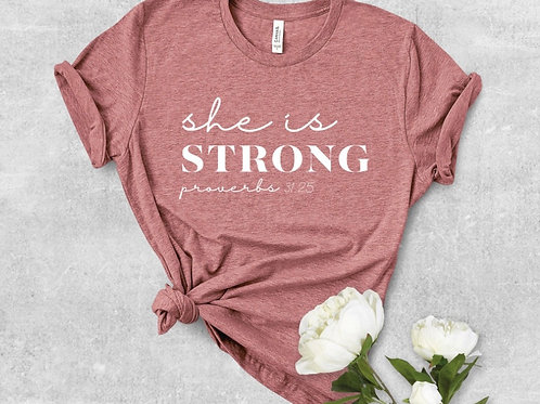 She is Strong