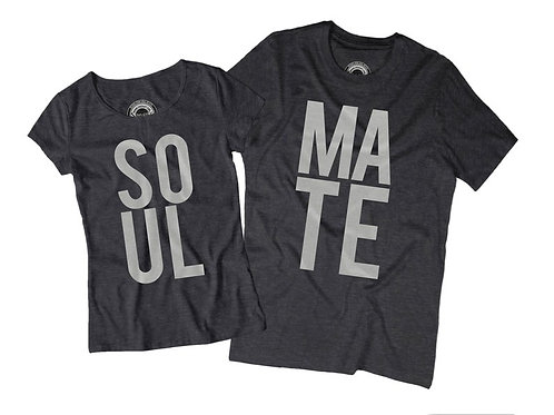 SOUL MATE T-shirts (His/Hers)