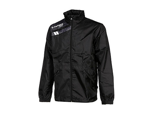CHAQUETA IMPERMEABLE FORCE125 NEGRO