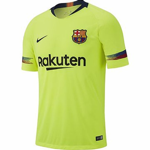 CAMISETA NIKE F.C.BARCELONA AWAY BREATHE STADIUM JUNIOR 919236-703