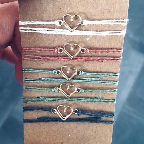 Bracelets à nouer