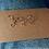 Bijoux lettre majuscule cursive sur-mesure