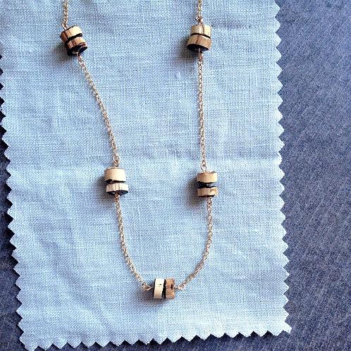 Ras de cou été, chocker, summer necklace, bohemian style, folk look, mode éthique, bijoux tendance, artisant français