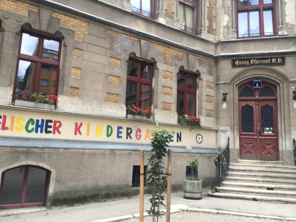 教会敷地内幼稚園