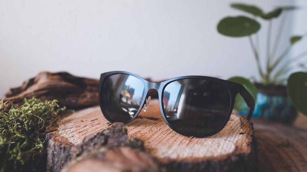 Laimer Holz-Sonnenbrille Hansi