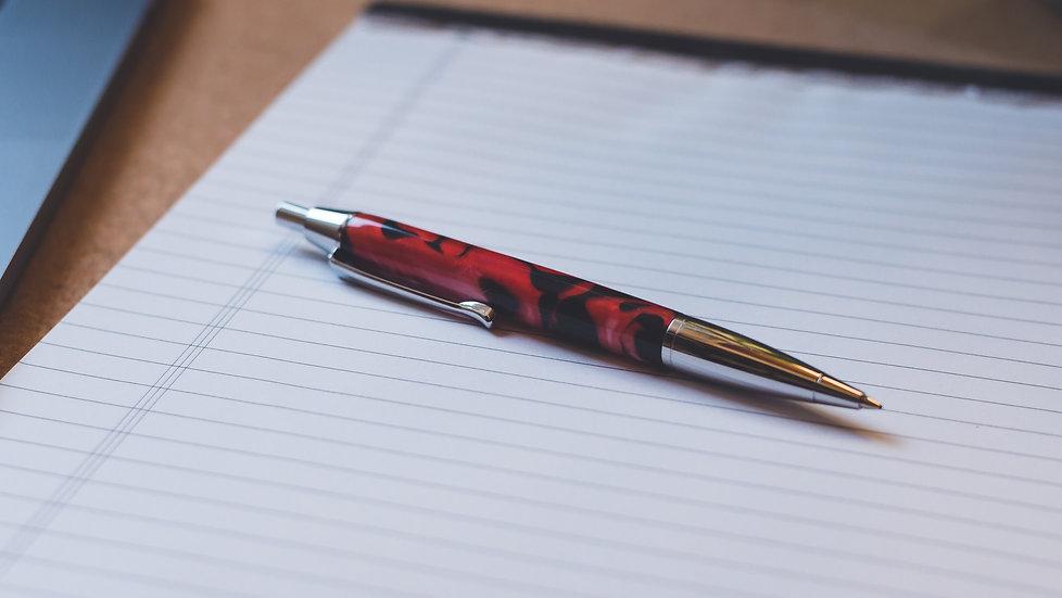 Kugelschreiber Devin Chrom