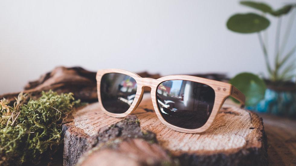 Laimer Holz-Sonnenbrille Doreen