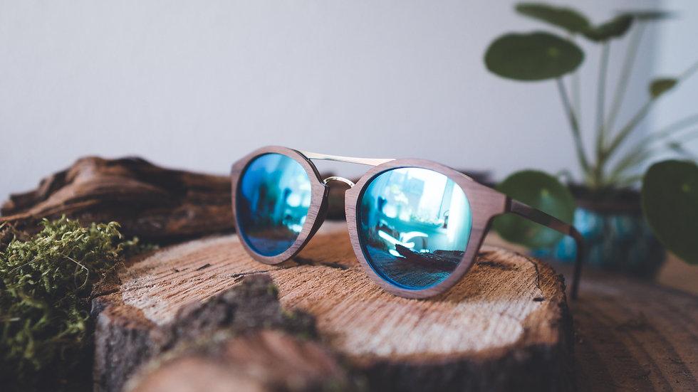 Laimer Holz-Sonnenbrille Andrea