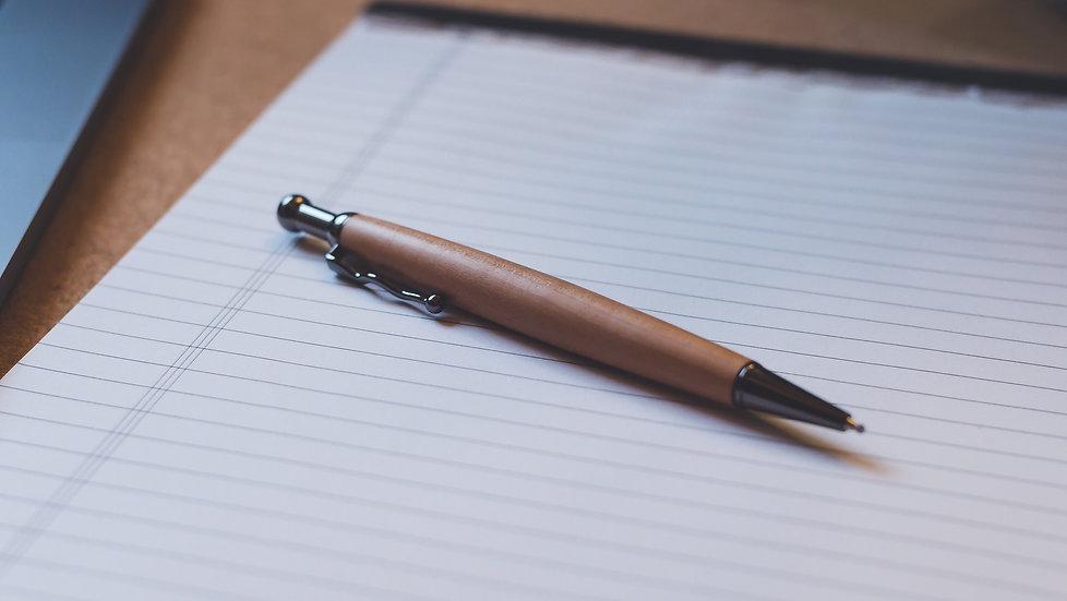Kugelschreiber Wellenclip Apfel