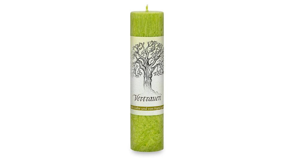 Heilkräuterkerze - Geist der Bäume - Vertrauen