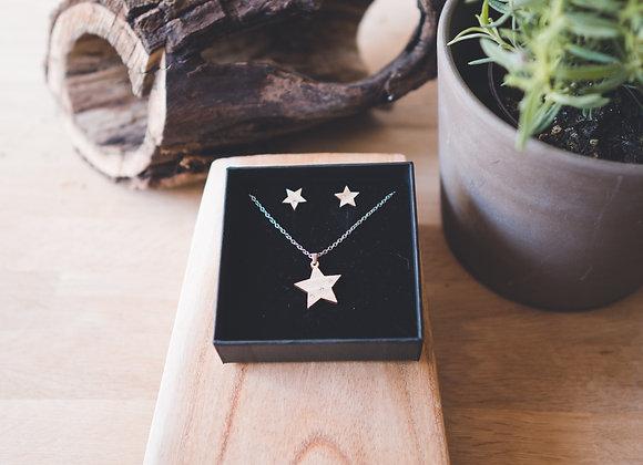 Eydl Lumia Cristal Eiche hell Stern Set