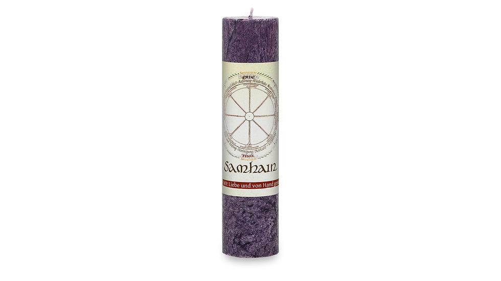 Heilkräuterkerze - Jahresrad - Samhain