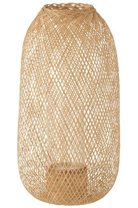 Lanterne Hazel Bambou Naturel Large