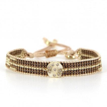 Bracelet (17) perles de Miyuki