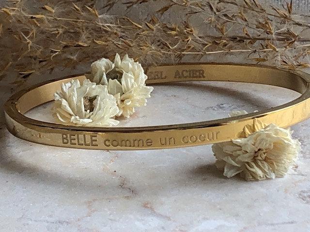 """Bracelet"""" Belle comme un coeur"""""""