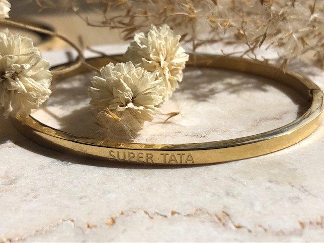 """Bracelet """" Super tata"""""""