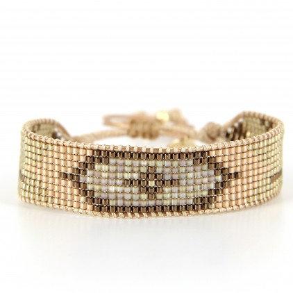 Bracelet (8) perles de Miyuki