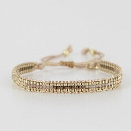 Bracelet (19) perles de Miyuki