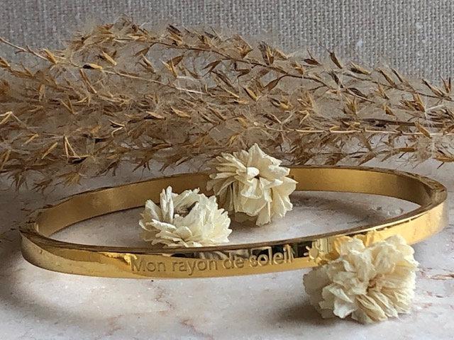 "Bracelet ""Mon rayon de soleil"""
