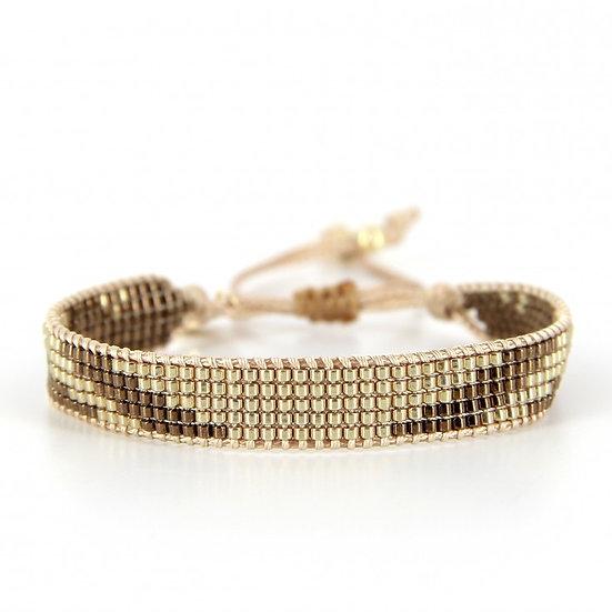 Bracelet 2 perles de Miyuki