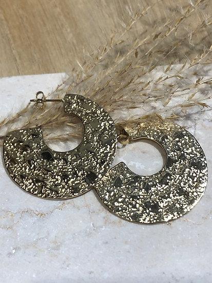 Boucles anneaux larges
