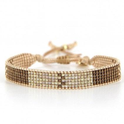 Bracelet (16) perles de Miyuki