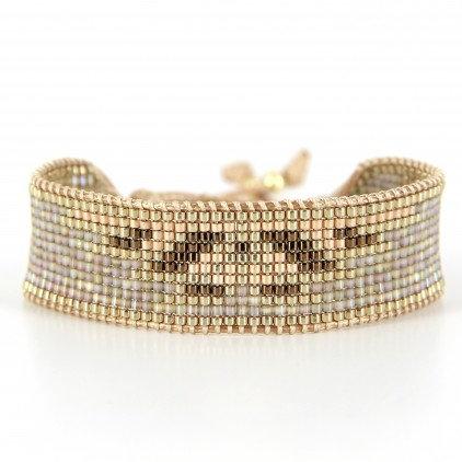 Bracelet (13) perles de Miyuki