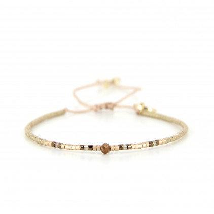 Bracelet (6) perles de Miyuki