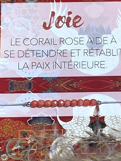 Bracelet CORAIL ROSE