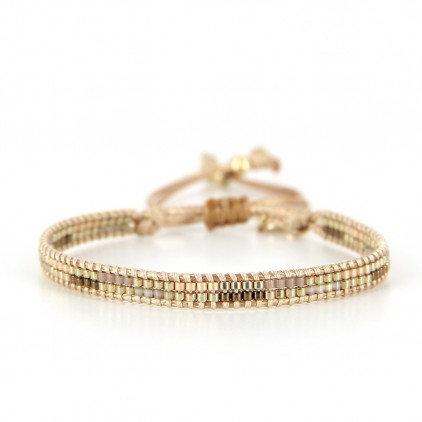 Bracelet (10) perles de Miyuki