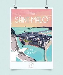 AFFICHE ST MALO