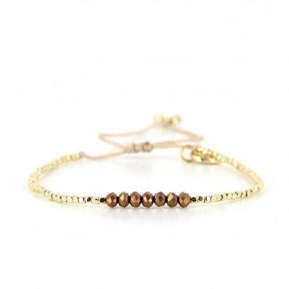 Bracelet (9) perles de Miyuki