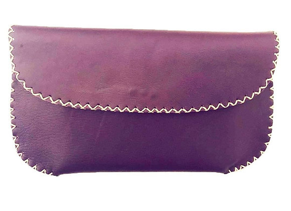 Handmade Leather Clutch, Women