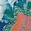 Thumbnail: Green Paper Leaf, Framed