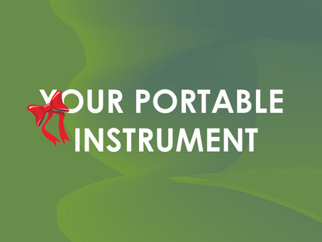 Your portable instrument