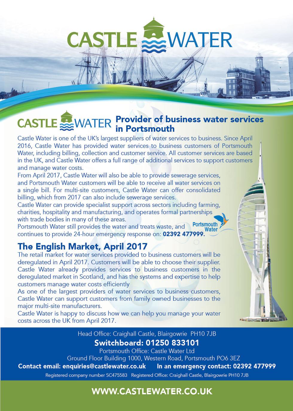 Service Info Flyer
