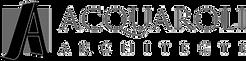 Logo Acquaroli Architecte