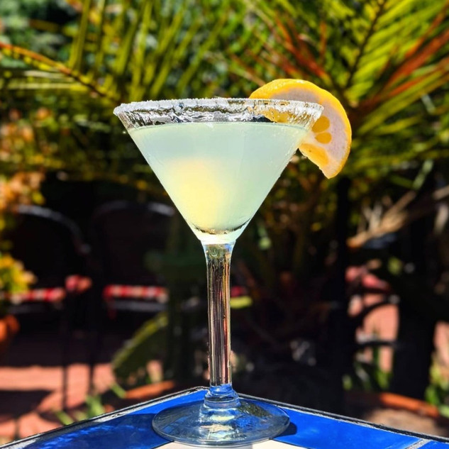 Our Famous Lemon Drop! Made with our Housemade Limoncello