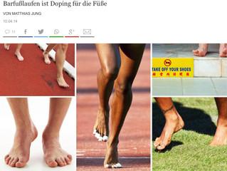 Barfußlaufen ist Doping für die Füße