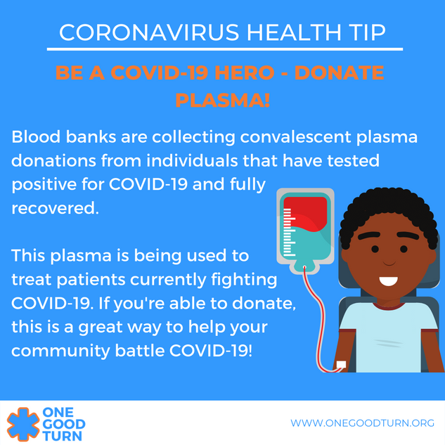 Be a COVID-19 Hero - Donate plasma! (1).