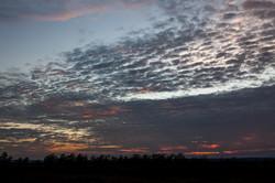 Cielo al amanecer