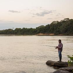Pesca en el Manacacias