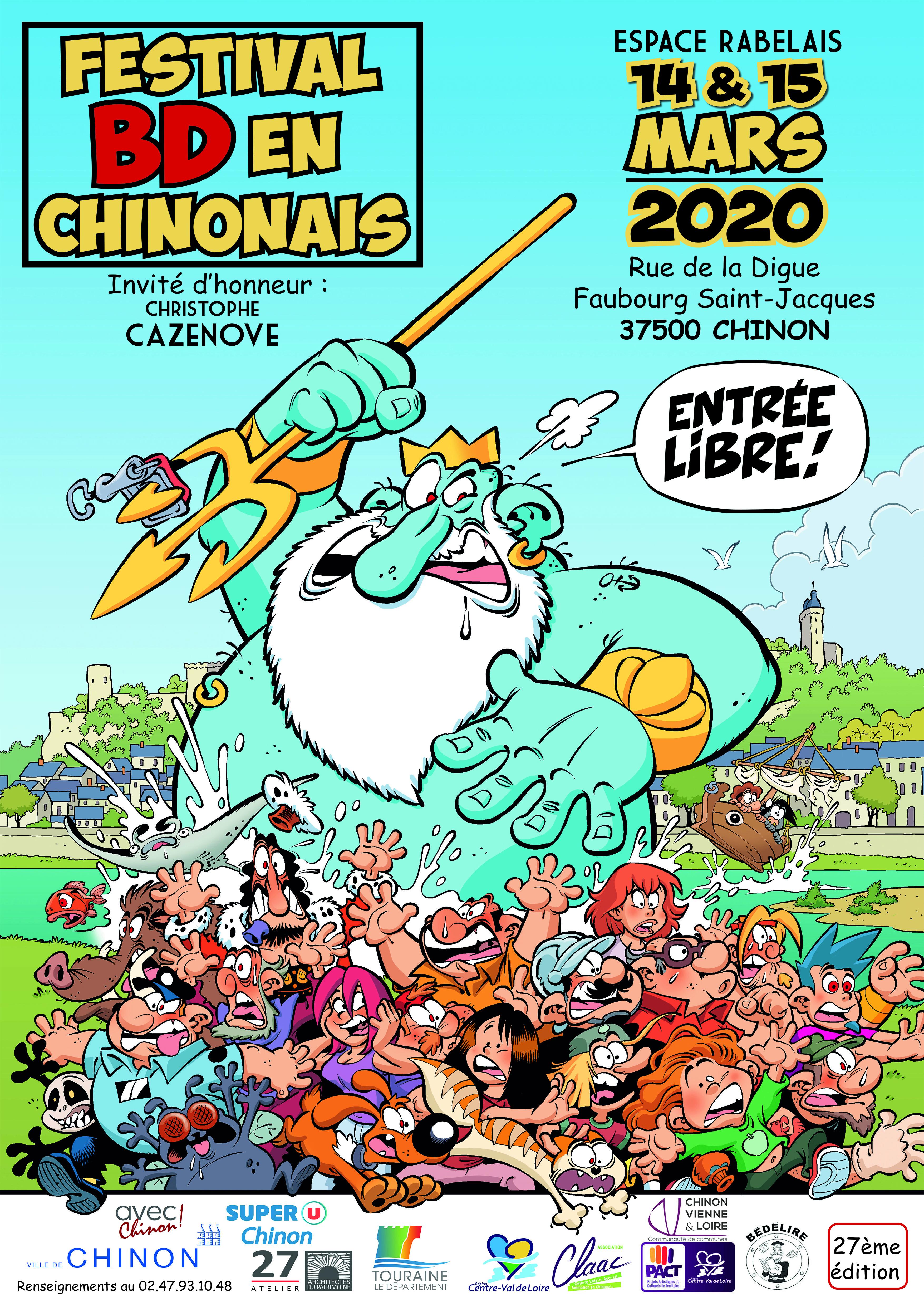 Festival BD en Chinonais